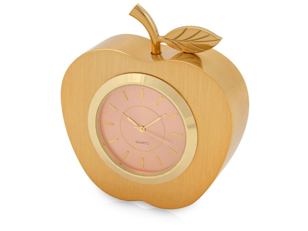 Часы настольные Золотое яблоко, золотистый