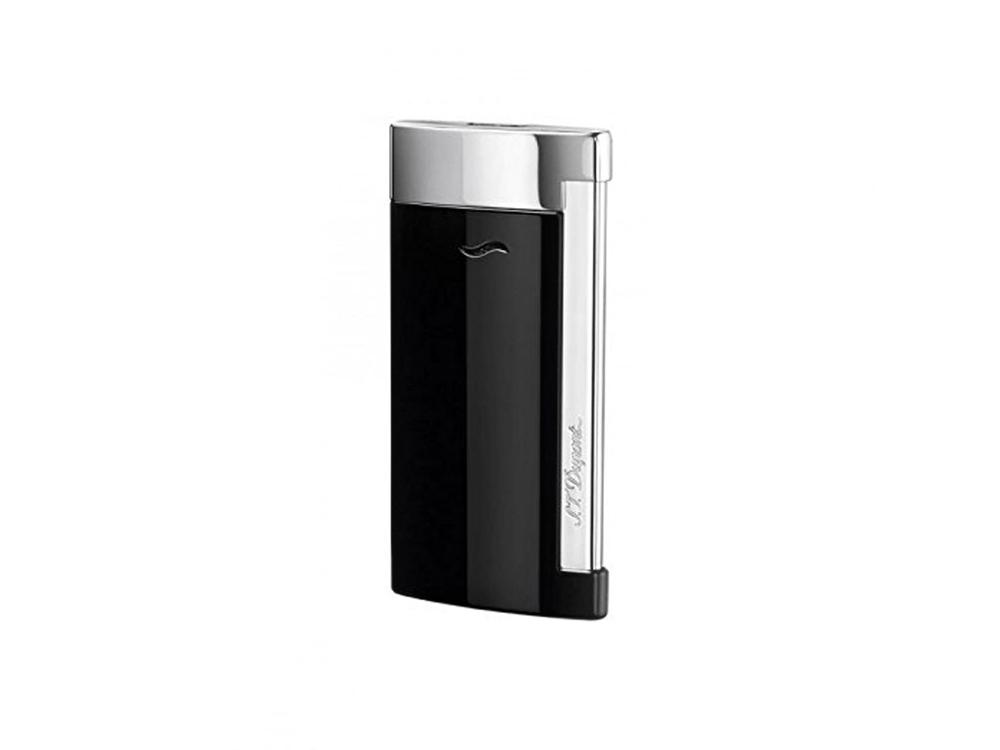 Зажигалка Slim7. S.T.Dupont, черный/серебристый