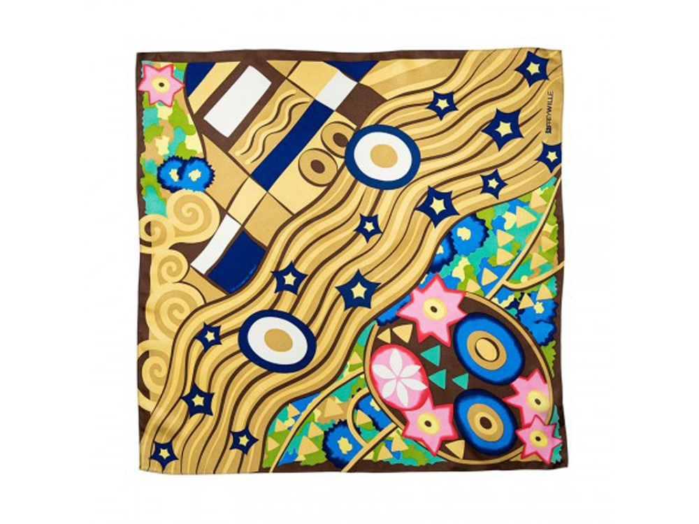 Шейный платок «Гаврош» Г. Климт. FREYWILLE