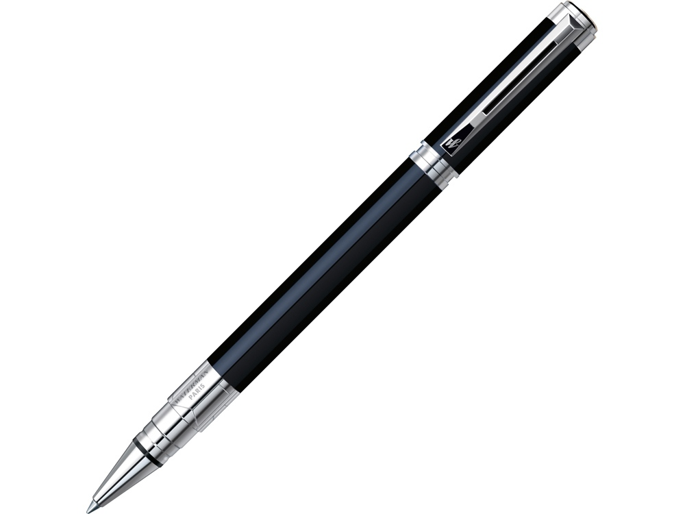 Ручка роллер Waterman модель Perspective Black CT в футляре