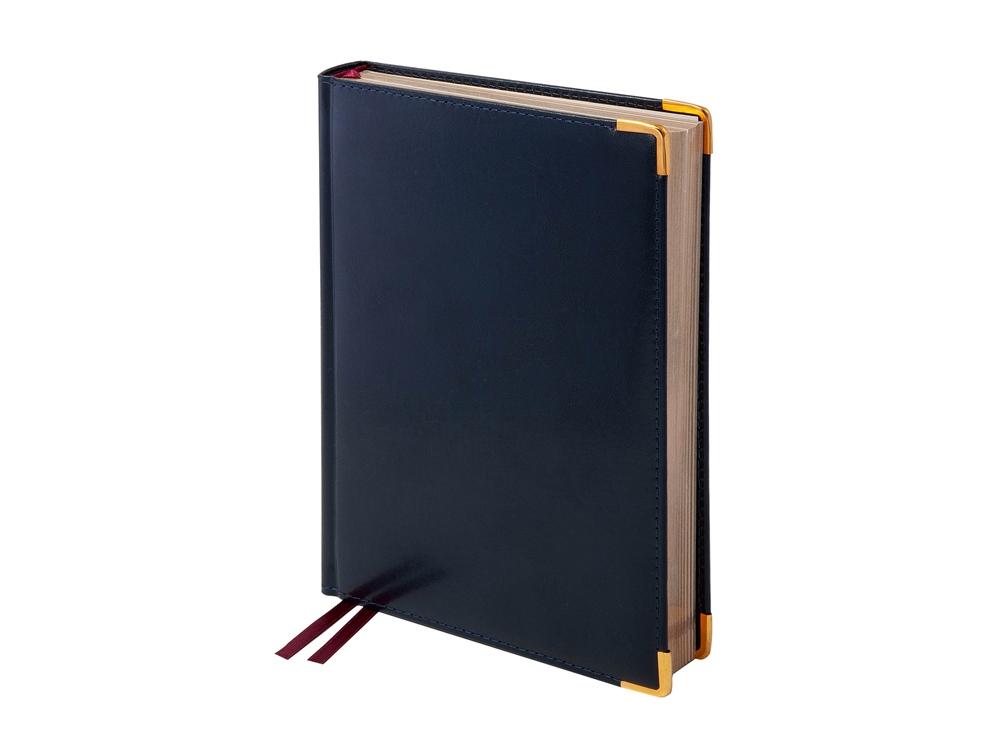 Ежедневник А5+ полудатированный «Imperium», синий