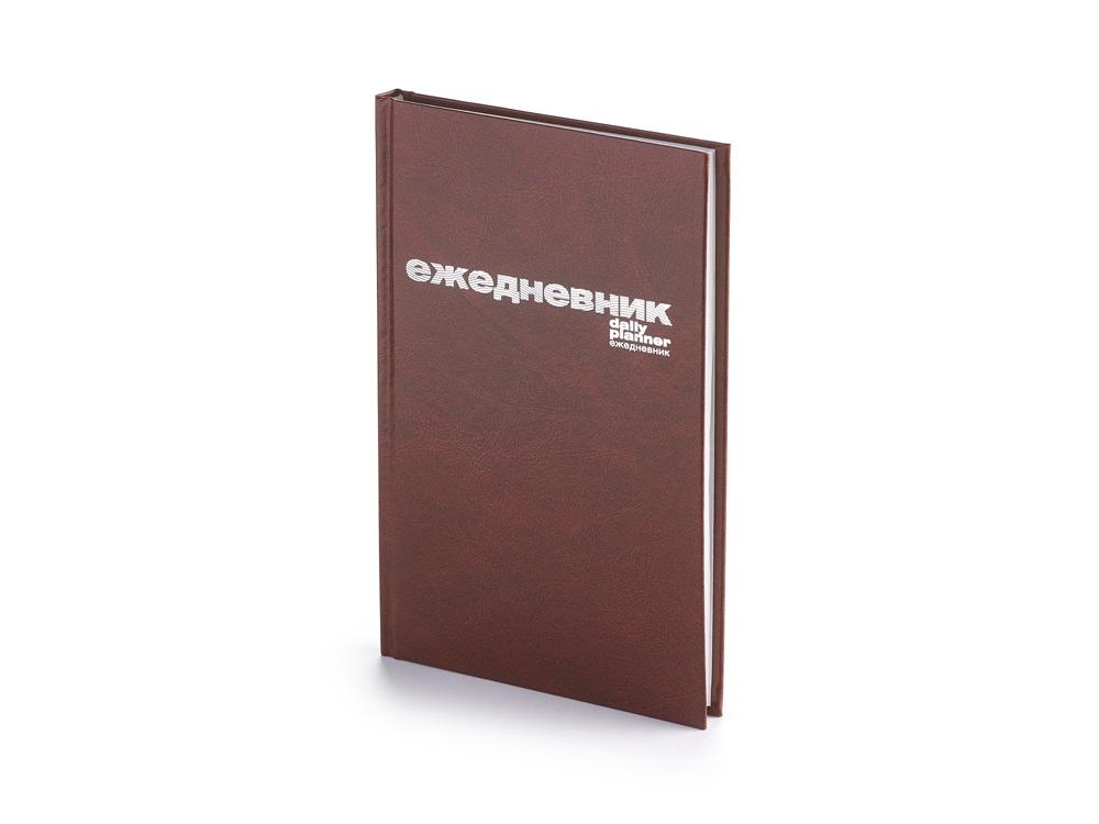 Ежедневник недатированный А5 Бумвинил, коричневый