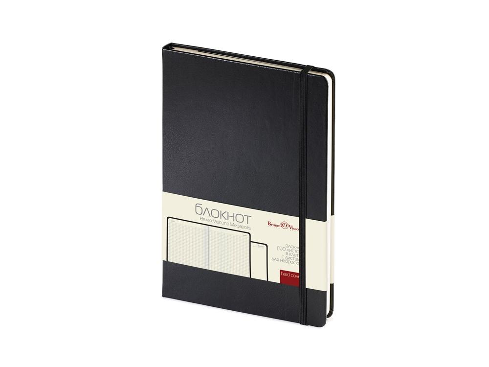 Блокнот А5 «Megapolis Journal», черный