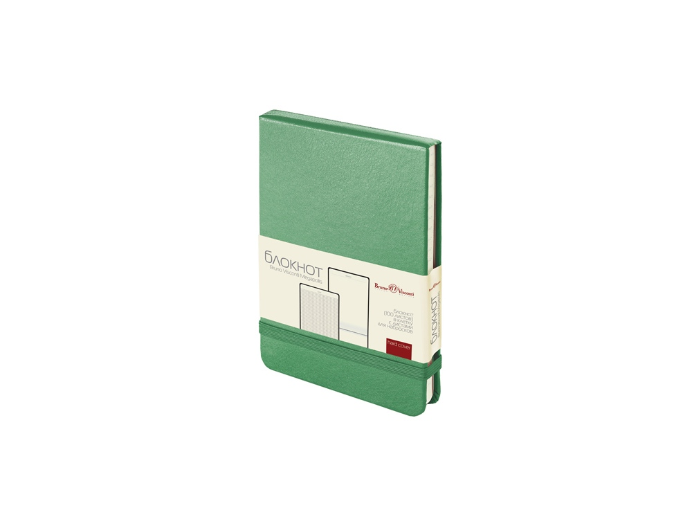 Блокнот А6 Megapolis Reporter, зеленый