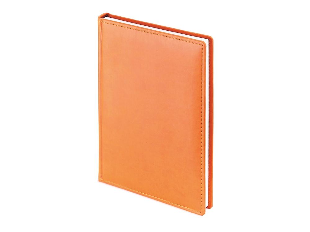 Ежедневник недатированный А4 Velvet, оранжевый