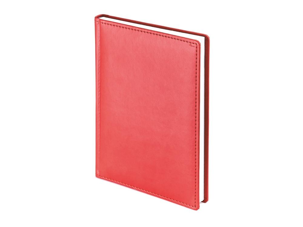 Ежедневник недатированный А4 «Velvet», красный