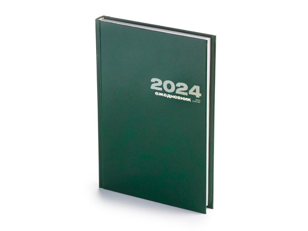Ежедневник А5 датированный «Бумвинил» 2019, зеленый