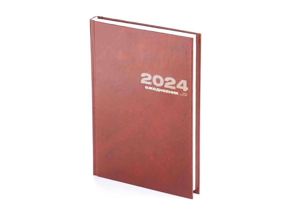 Ежедневник А5 датированный «Бумвинил» 2019, коричневый