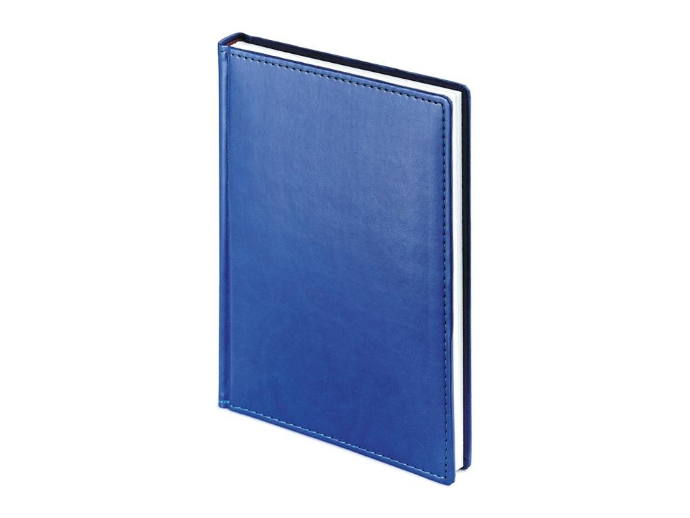 Ежедневник А5 датированный «Velvet» 2019, синий