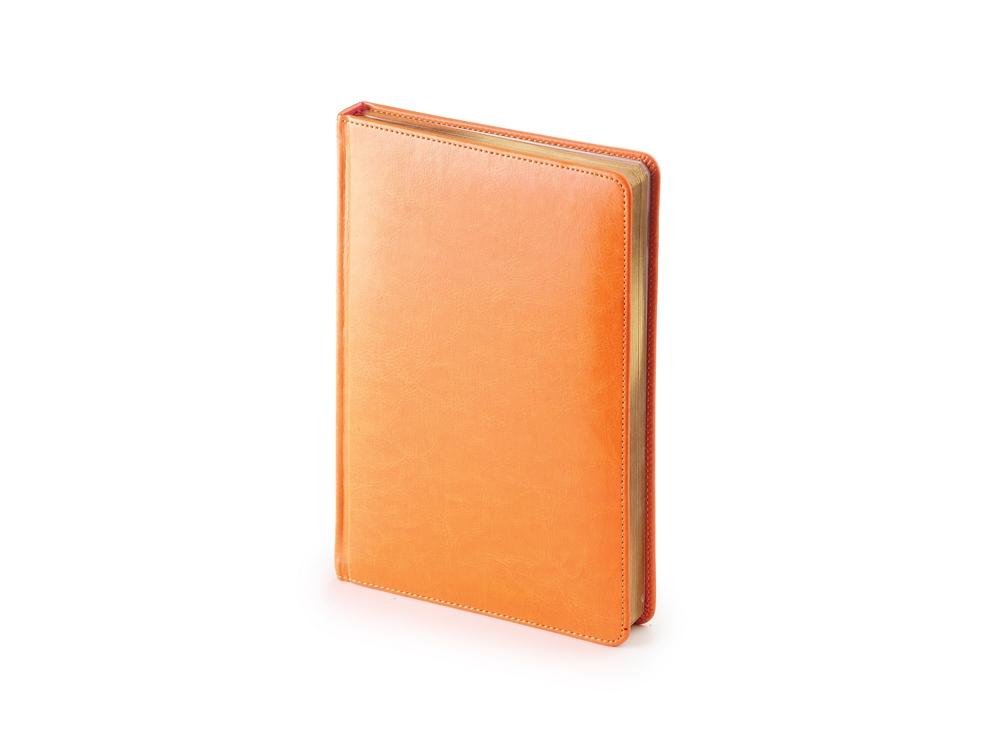 Ежедневник А5 датированный «Sidney Nebraska» 2019, оранжевый