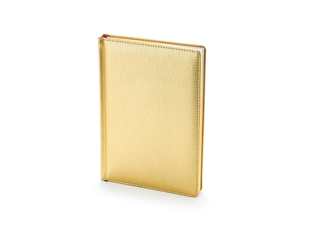 Ежедневник недатированный А5+ «Sidney Nebraska», золото