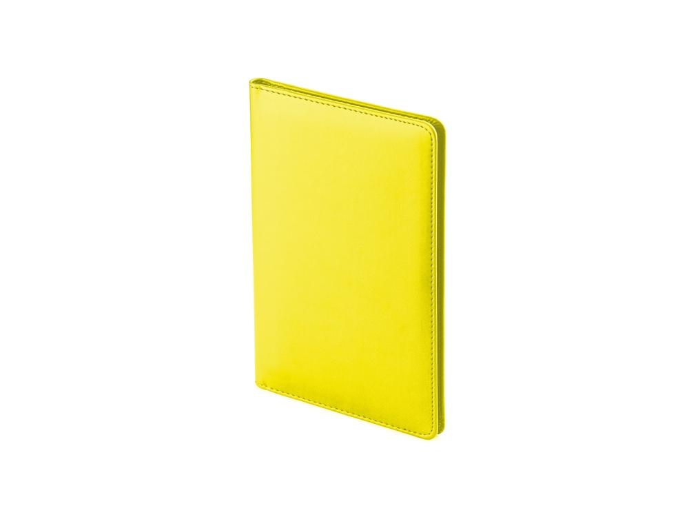 Визитница А5 Velvet, желтый
