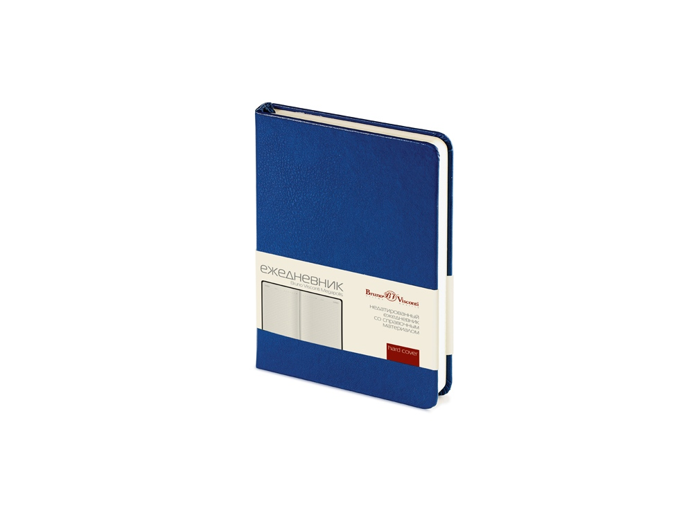 Ежедневник недатированный А6 «Megapolis», синий