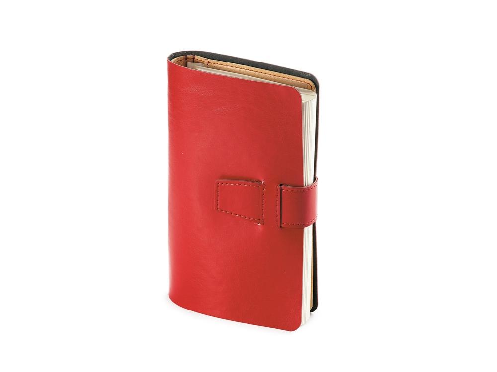 Ежедневник недатированный А5 Sienna, красный