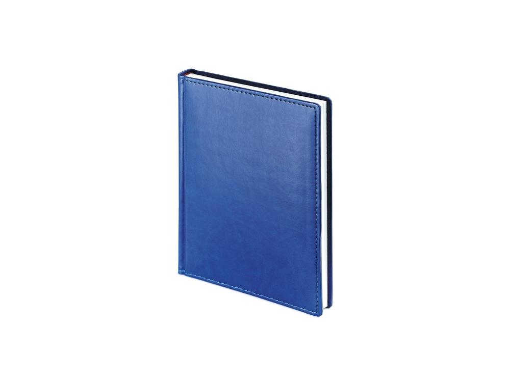 Ежедневник недатированный А6+ Velvet, синий