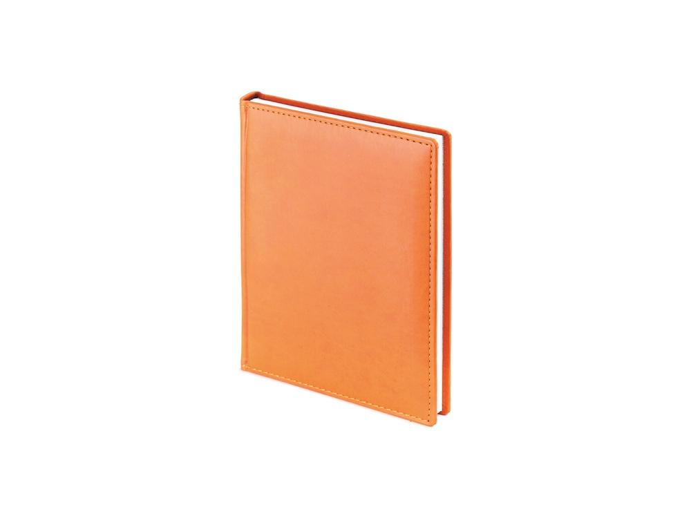 Ежедневник недатированный А6+ «Velvet», оранжевый