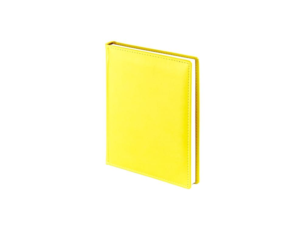 Ежедневник недатированный А6+ Velvet, желтый