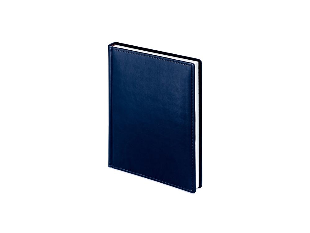 Ежедневник недатированный А6+ Velvet, темно-синий navy