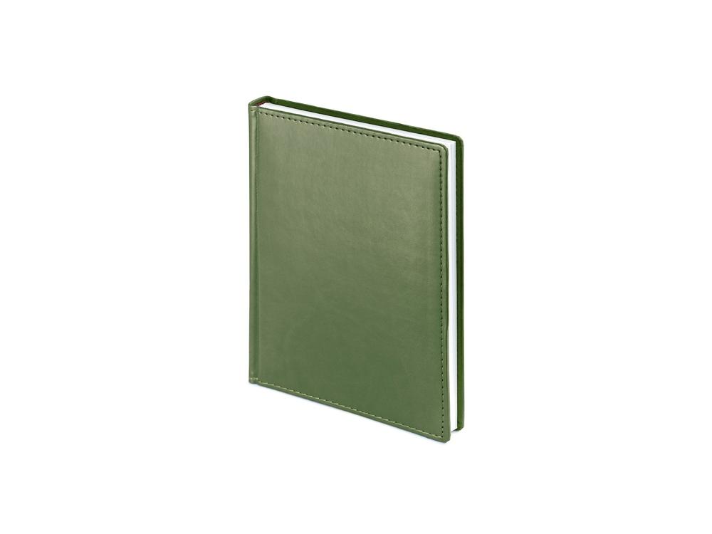 Ежедневник недатированный А6+ «Velvet», оливковый