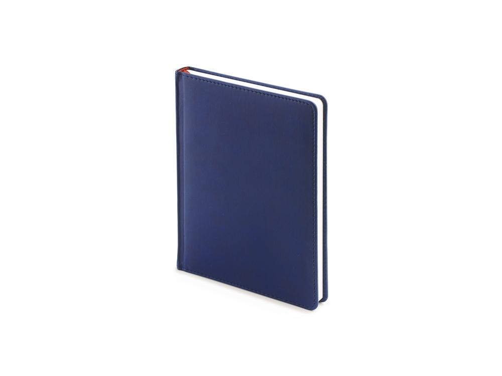 Ежедневник недатированный А6+ «Velvet», темно-синий