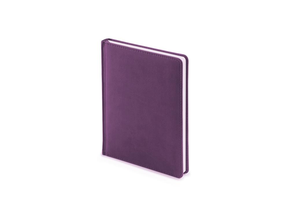 Ежедневник недатированный А6+ Velvet, фиолетовый