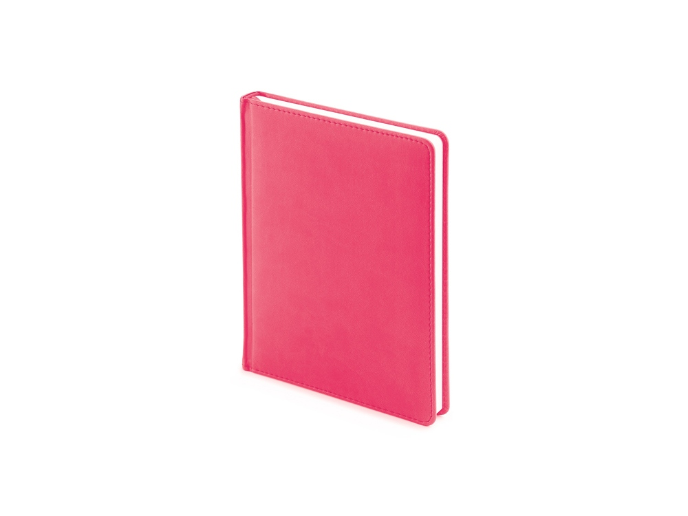 Ежедневник недатированный А6+ Velvet, розовый