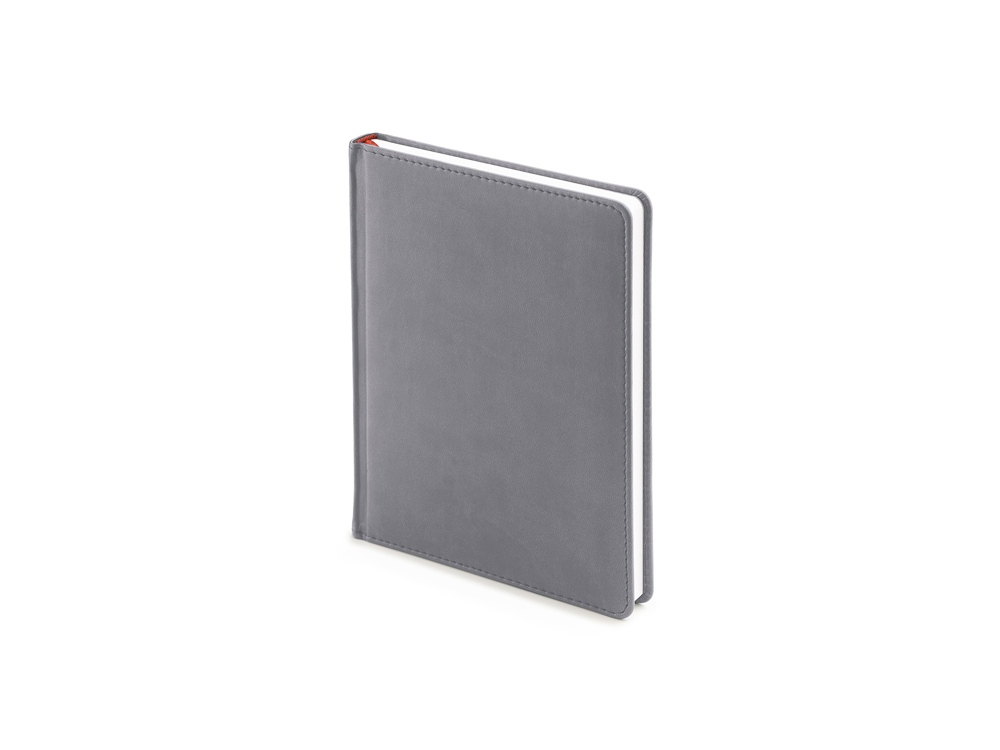 Ежедневник недатированный А6+ «Velvet», светло-серый