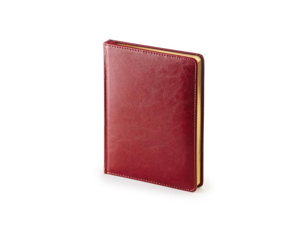 Ежедневник недатированный А6+ «Sidney Nebraska», бордовый