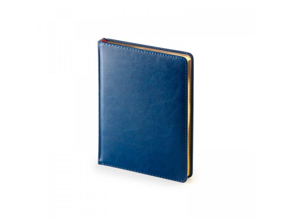 Ежедневник недатированный А6+ «Sidney Nebraska», синий