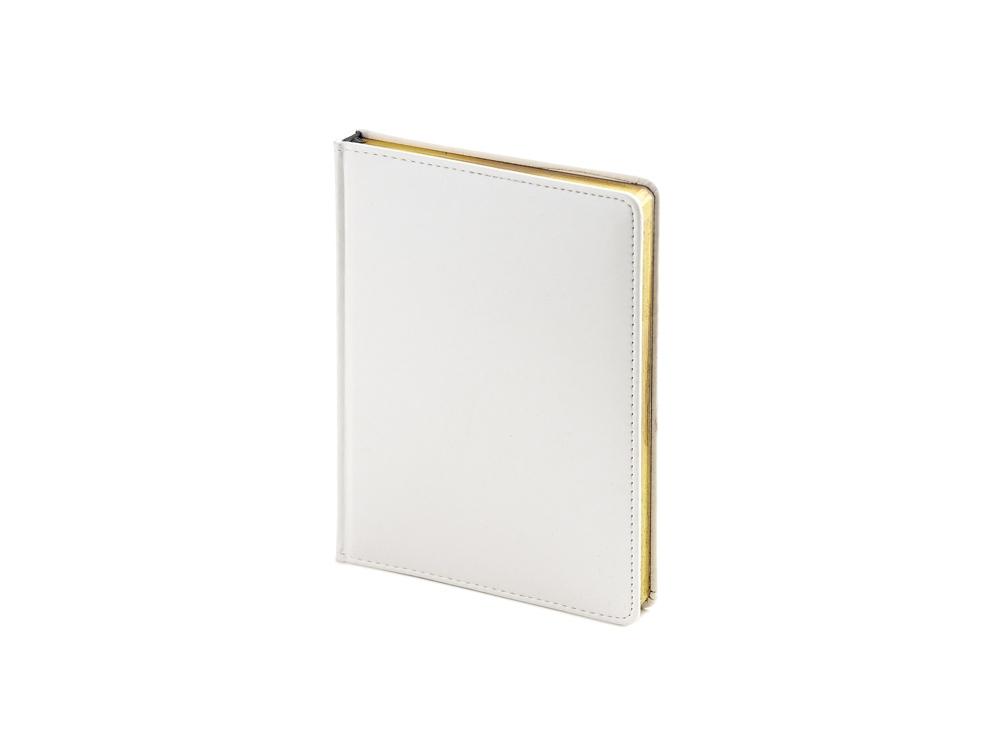 Ежедневник недатированный А6+ «Sidney Nebraska», белый