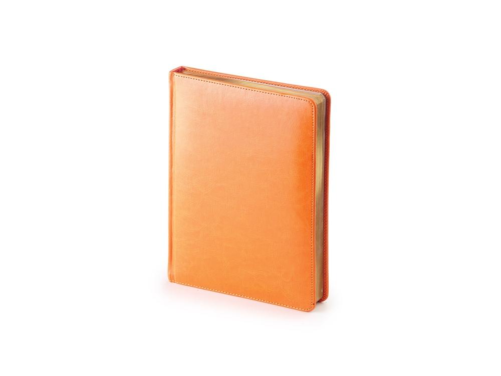 Ежедневник недатированный А6+ «Sidney Nebraska», оранжевый