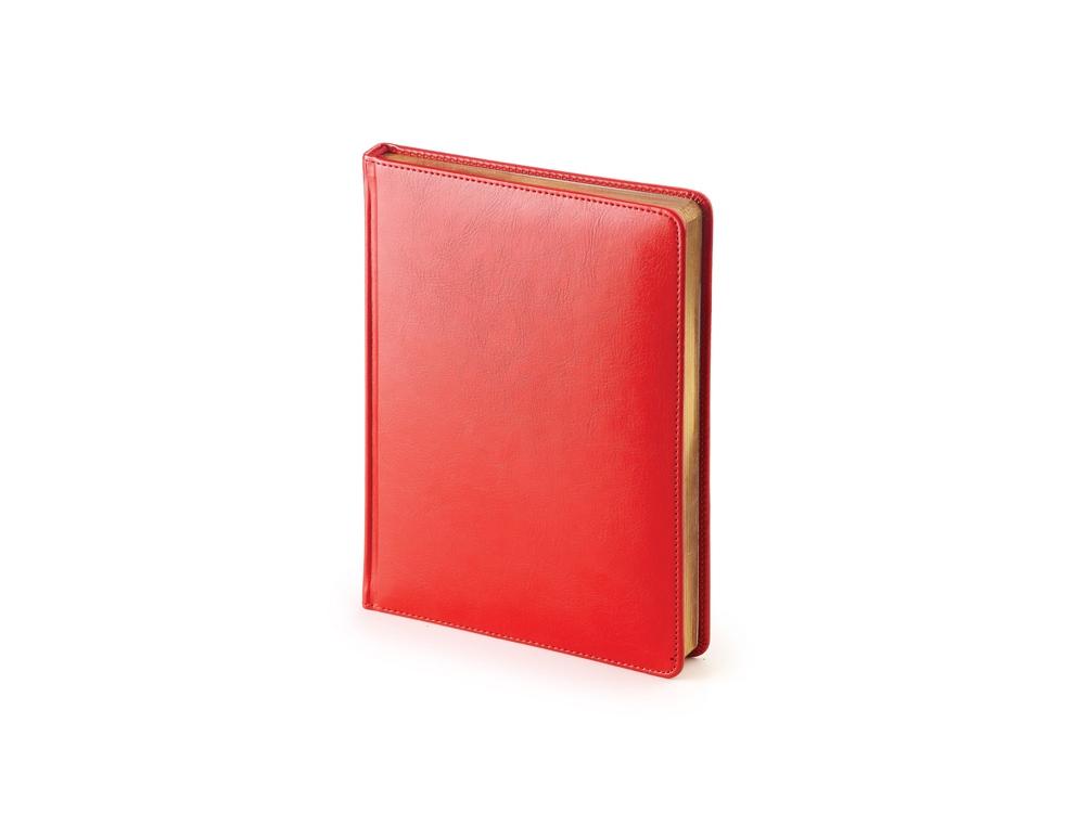 Ежедневник недатированный А6+ «Sidney Nebraska», красный