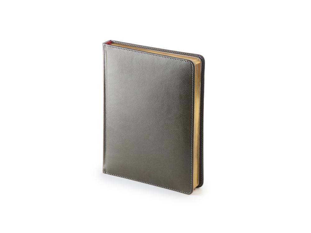 Ежедневник недатированный А6+ «Sidney Nebraska», серый