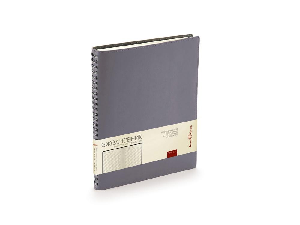 Ежедневник недатированный B5 «Tintoretto New», серый