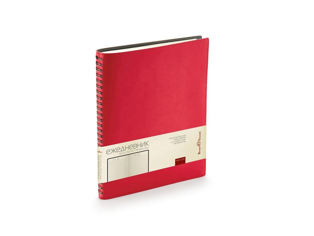 Ежедневник недатированный B5 «Tintoretto New», красный