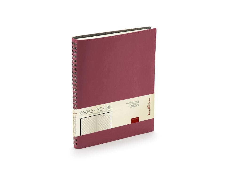 Ежедневник недатированный B5 «Tintoretto New», бордовый