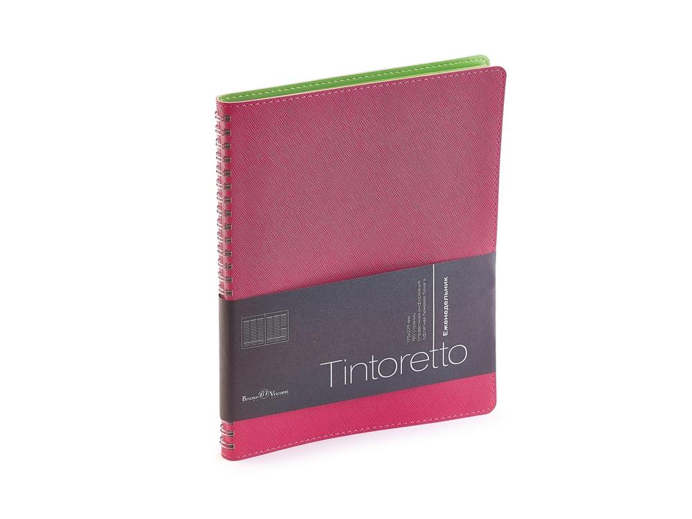 Еженедельник недатированный B5 Tintoretto, розовый