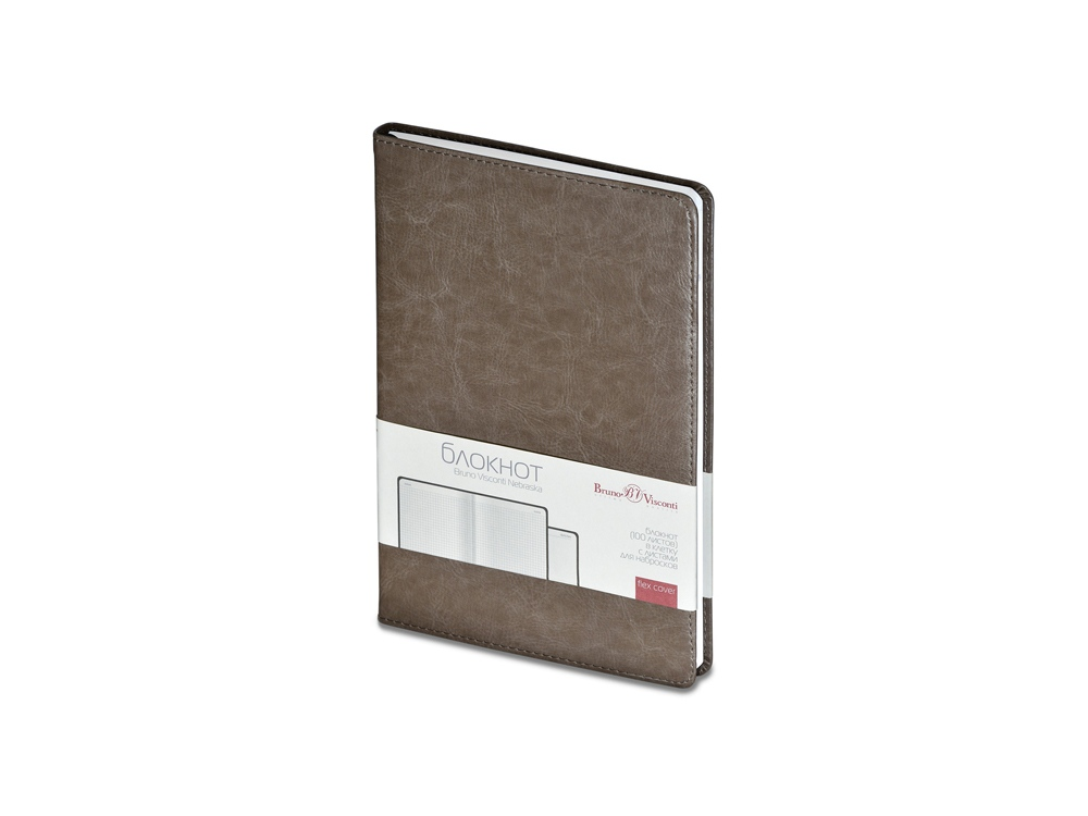 Блокнот А5 «Nebraska», серый