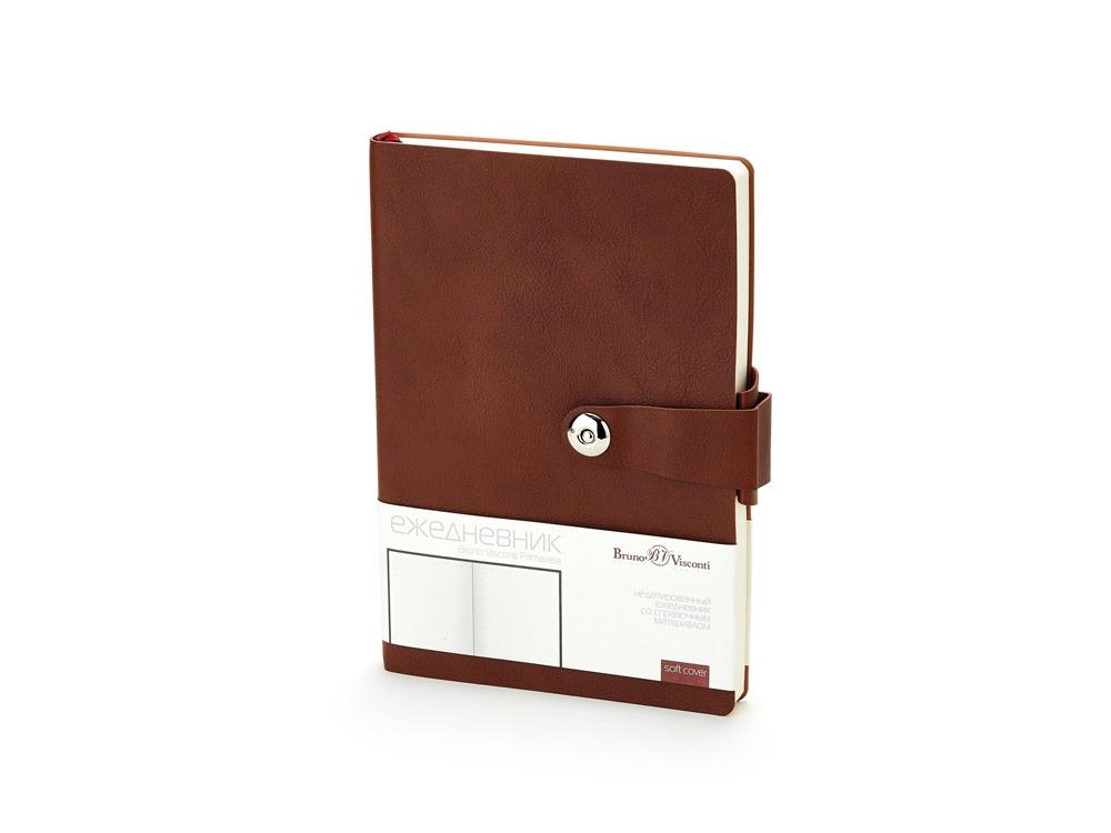 Ежедневник недатированный  А5 PRIMAVERA коричневый