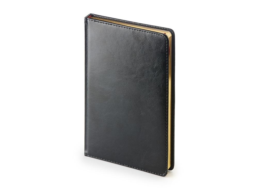 Ежедневник недатированный А4 «Sidney Nebraska», черный