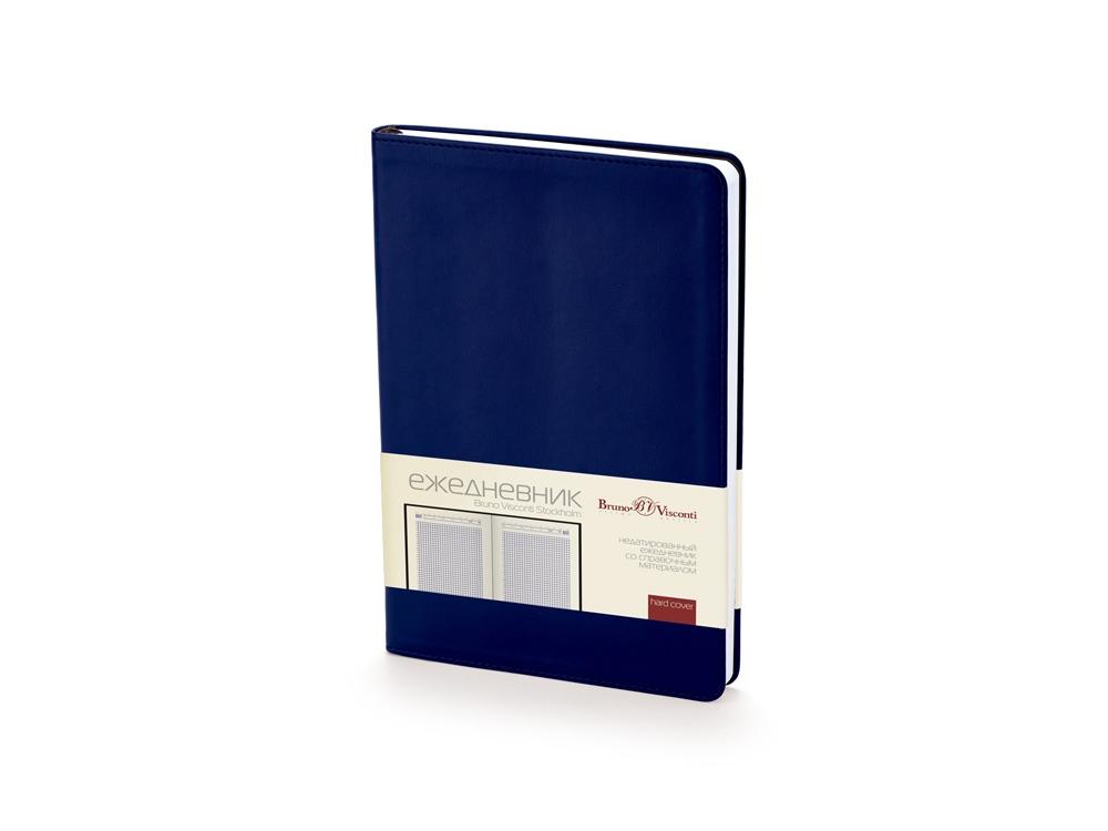Ежедневник недатированный А5 «Stockholm», темно-синий