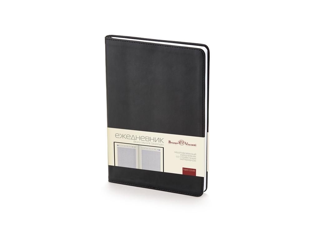 Ежедневник недатированный А5 «Stockholm», черный
