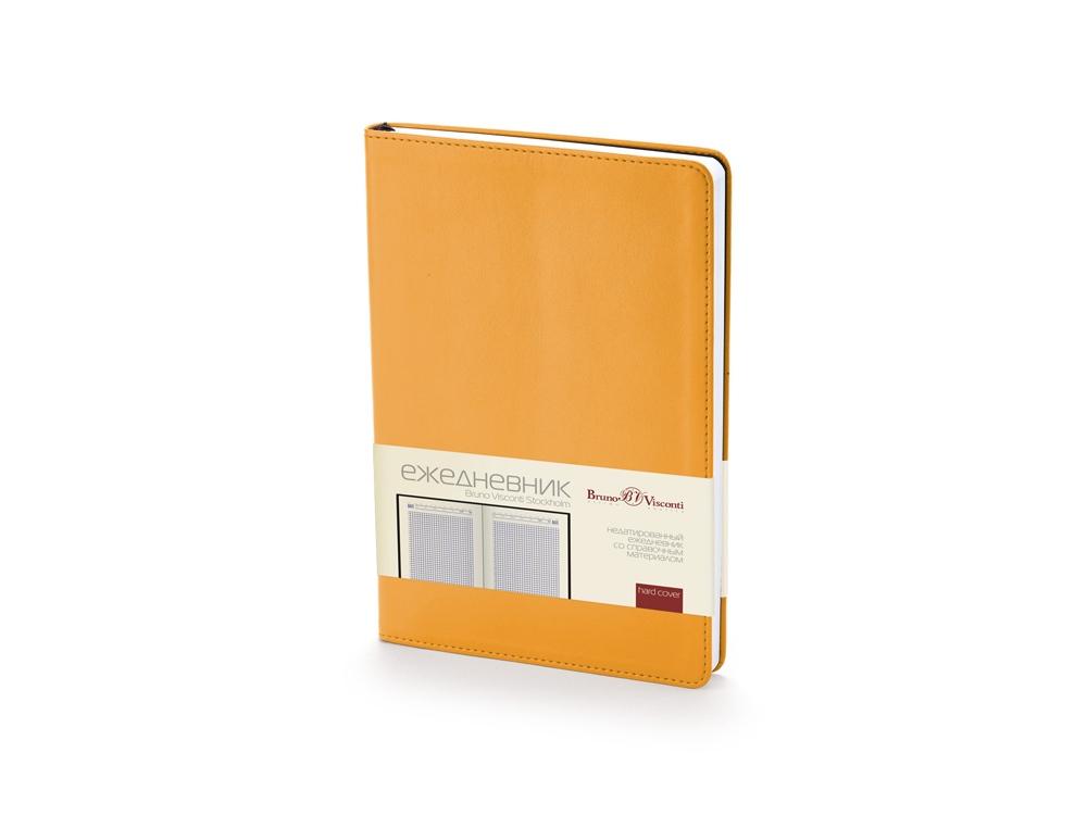 Ежедневник недатированный А5 «Stockholm», оранжевый