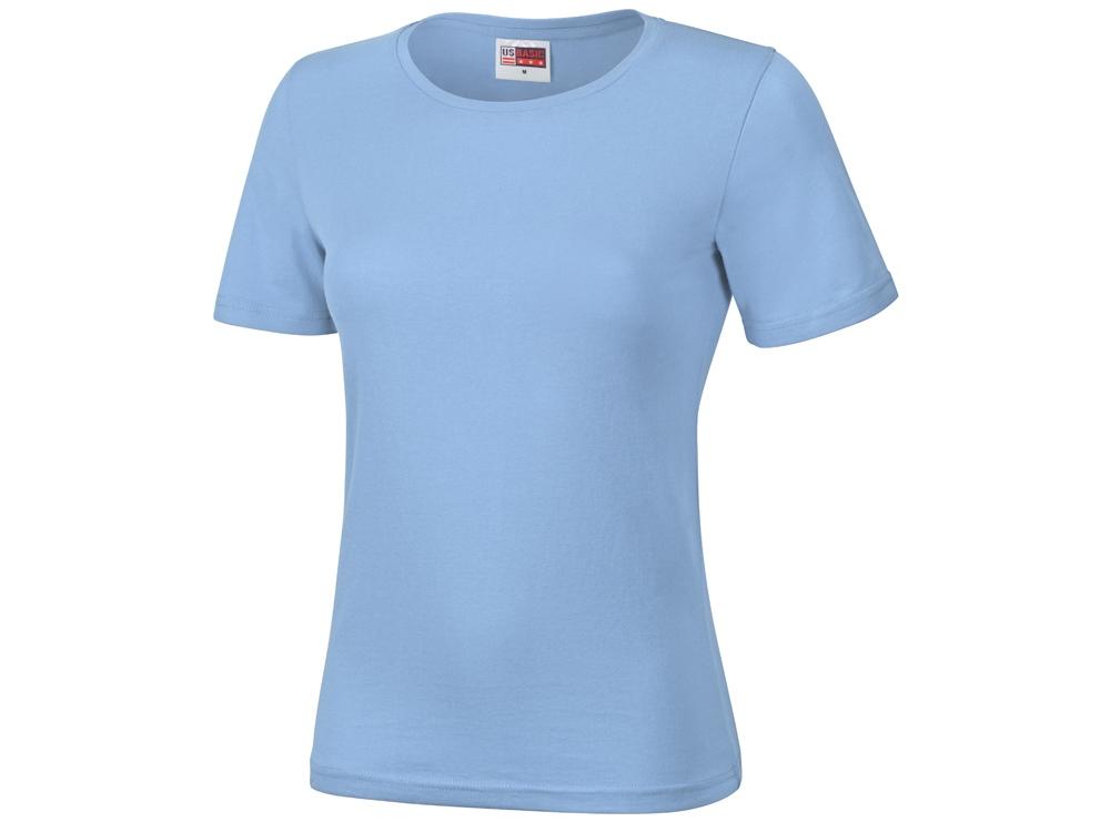 Футболка Heavy Super Club женская, небесно-синий