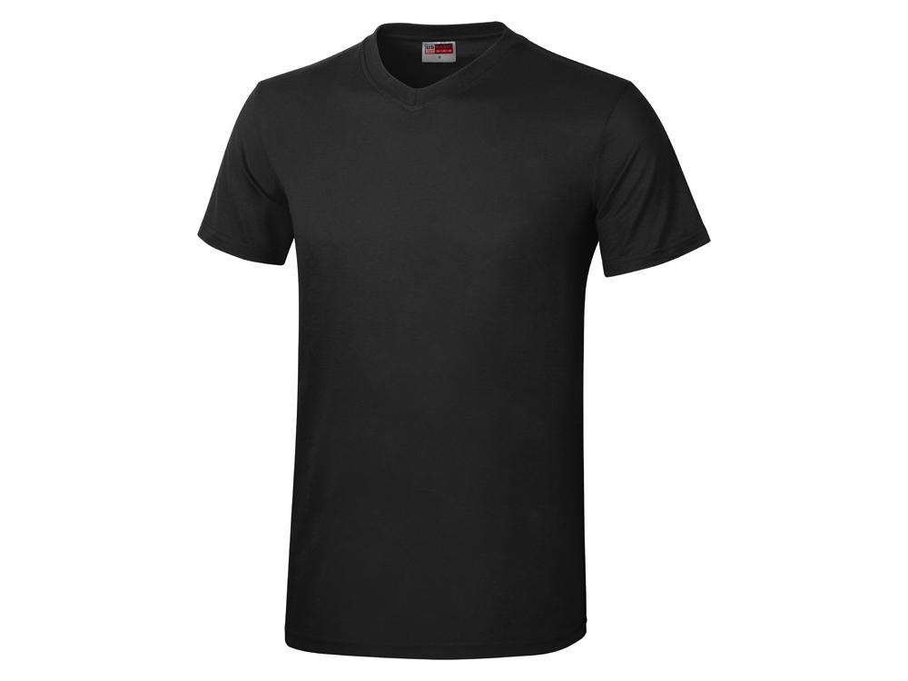 Футболка Heavy Super Club мужская с V-образным вырезом, черный