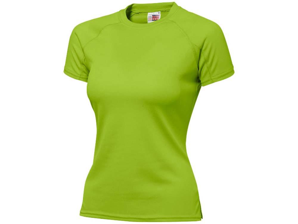 Футболка Striker женская, зеленое яблоко