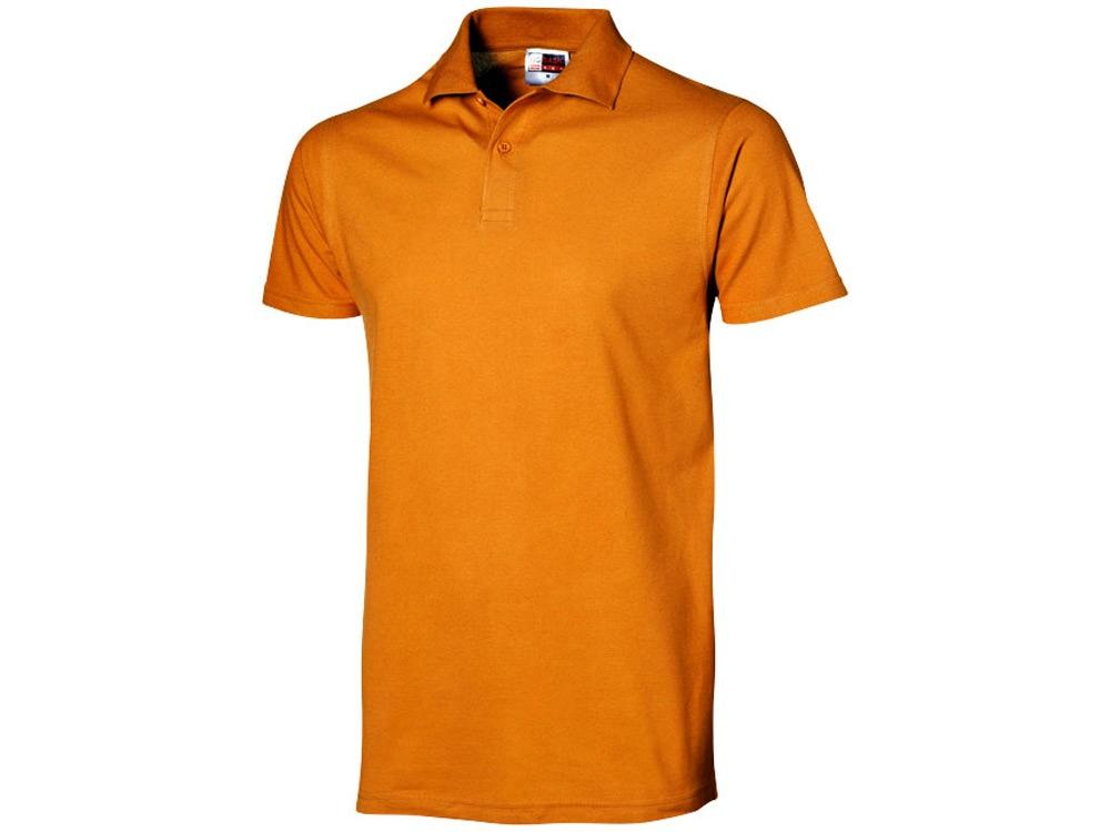 Рубашка поло First мужская, оранжевый