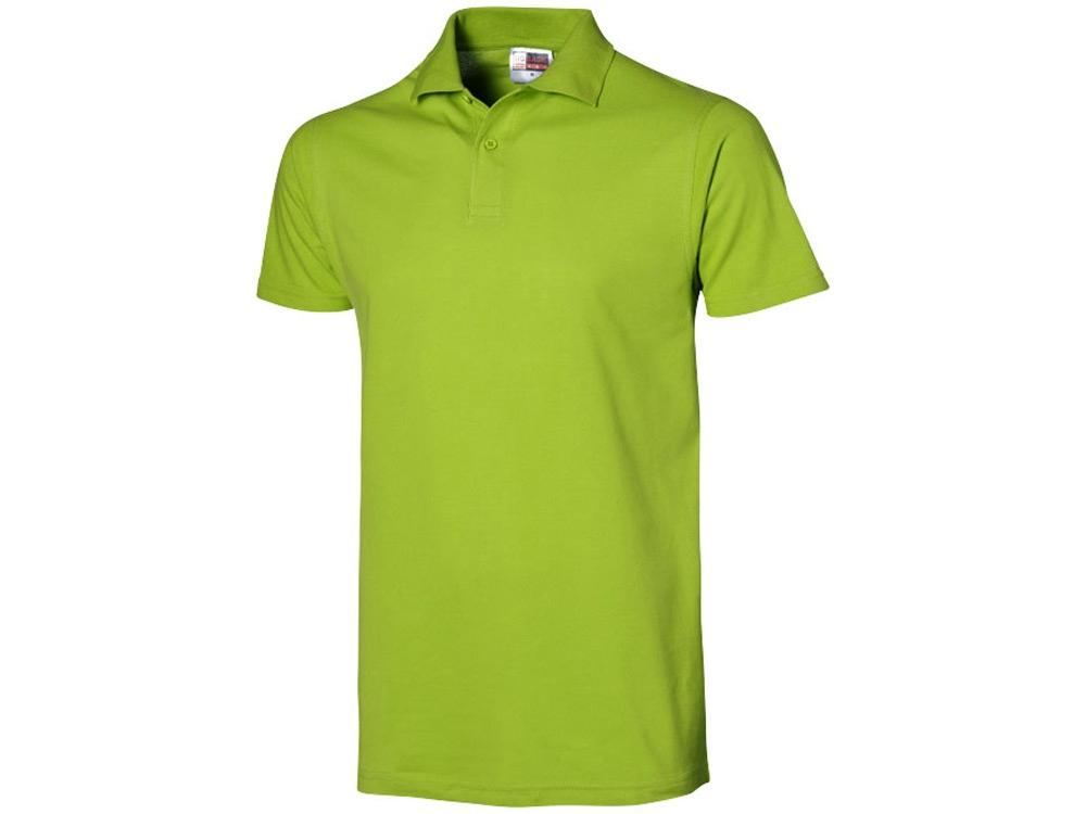 Рубашка поло First C мужская, зеленое яблоко