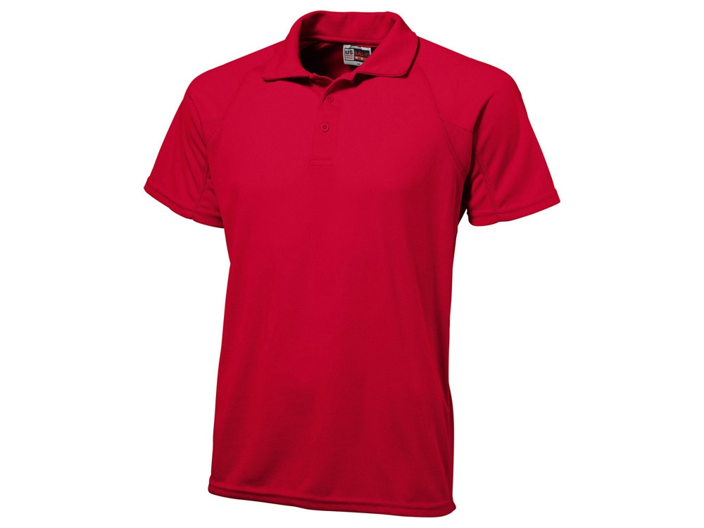 Рубашка поло Striker мужская, красный