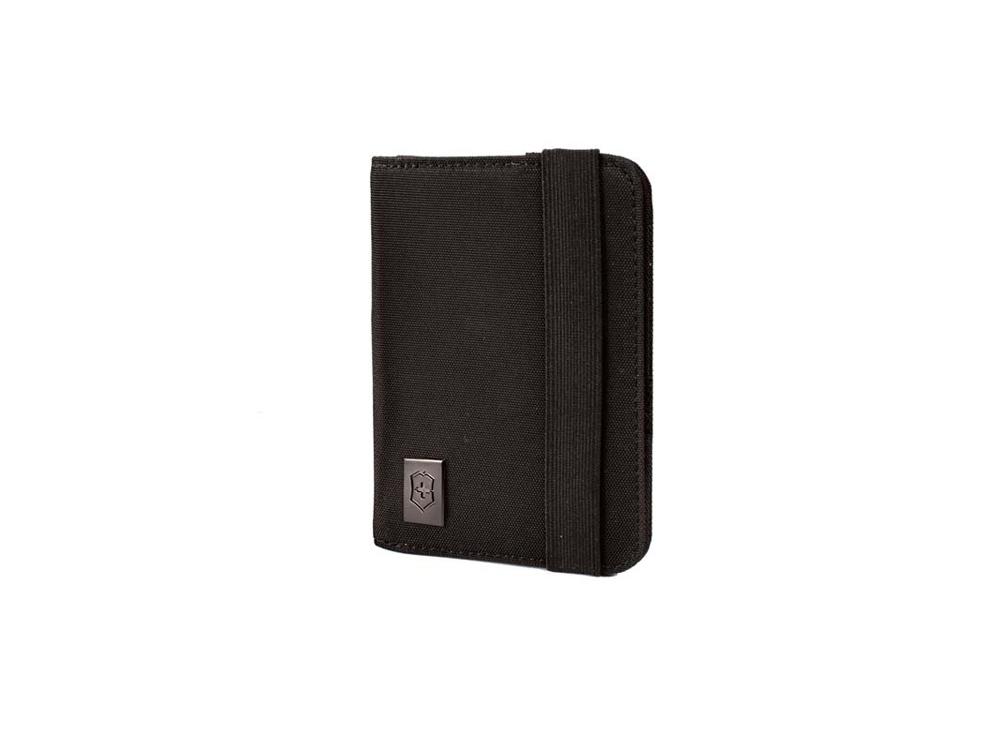 Обложка для паспорта с защитой от сканирования RFID, черный